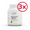 3er Pack Vitamin D3 1000 I.E. 3 x 200 Tabletten