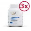 3 Pack L-Tryptophan 500mg 270 Vegetarian Capsules