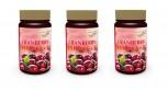 3er Pack Cranberry Extrakt 400mg + Vitamin C 180 Vegi Kapseln