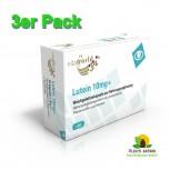 3er Pack Lutein 10mg+ 3 x 30 Kapseln Leinsamenöl Planzenstoffen und Vitamine