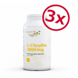 Pack di 3 Citrullina 1000mg 3 x 240 Compresse