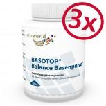 3er Pack Basotop Balance Basenpulver 900g