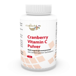 Cranberry 400mg + Vitamin C 180 Capsules