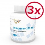 Pack di 3 DHA Junior 220mg 360 Capsules