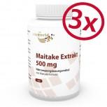 3er Pack Maitake Extrakt 500mg 300 Kapseln