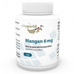 Manganese with Minerals 6 mg 120 Capsules Vegetarian/Vegan