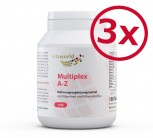 Pack di 3 Multivitaminico A-Z 300 Compresse (24 nutrienti vitali dalla A alla Z)
