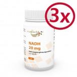 Pack di 3 NADH 20mg 180 Capsule