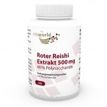 Premium Red Reishi extract 500mg 100 Capsules