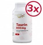 3er Pack Taurin 850mg 390 Kapseln
