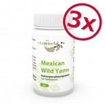 3er Pack Mexican Wild Yams 500mg 180 Kapseln