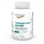 Ecklonia Cava estratto 50mg + Spirulina 120 Capsule