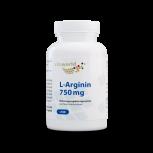 L-Arginine 750 mg 100 Capsules Végétalien/Végétarien