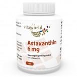 Astaxanthin 6mg 60 Kapseln in Öl (Gelatinekapseln) - Haematococcus pluvialis Extrakt